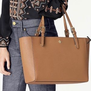 TORY BURCH Large Emerson Buckle Tote
